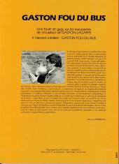Verso de Gaston (Hors-série) -FB06- Fou du bus - TCL