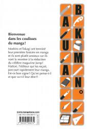 Verso de Bakuman. -2- Chocolats et Akamaru