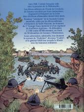 Verso de Avec les Cadets de Saumur - Juin 1940