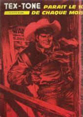 Verso de Tex-Tone -444- Vieux amis