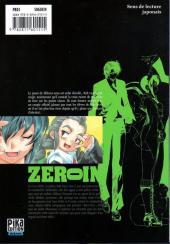 Verso de Zero In - À bout portant -9- Volume 9