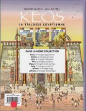Verso de Kéos -INT- La trilogie égyptienne