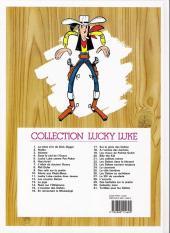 Verso de Lucky Luke -29d09- Des barbelés sur la prairie