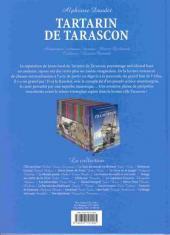 Verso de Les incontournables de la littérature en BD -19- Tartarin de Tarascon