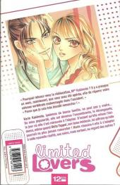 Verso de Limited lovers -1- Tome 1