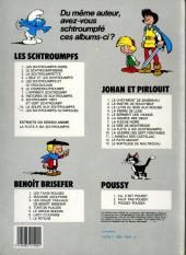 Verso de Les schtroumpfs -9b1984- Schtroumpf vert et vert schtroumpf