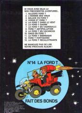 Verso de Marc Lebut et son voisin -13- La Ford T récalcitrante