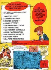 Verso de Marc Lebut et son voisin -11- La Ford T énergique