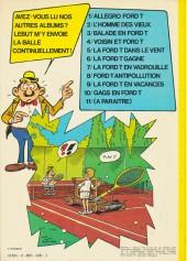 Verso de Marc Lebut et son voisin -10- Gags en Ford T