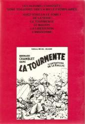 Verso de Bernard Chamblet -2a- Bernard Chamblet dans le maquis
