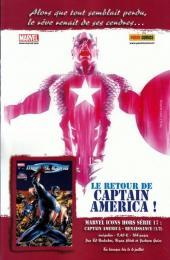 Verso de Marvel Universe Hors Série (Panini - 2008) -7- La Torche (1/2)