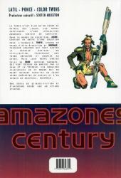 Verso de Amazones Century -INT- Terre de salut