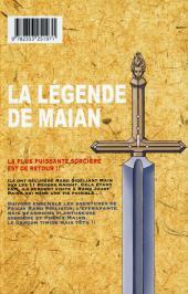 Verso de La légende de Maian -3- Tome 3
