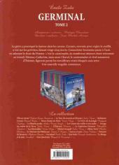 Verso de Les incontournables de la littérature en BD -21- Germinal - tome 2