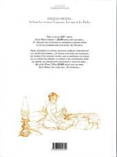 Verso de Le capitaine Nemo / Indes 1821 -INT- Intégrale Prestige