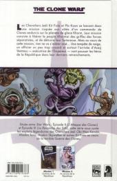 Verso de Star Wars - The Clone Wars -2- Mission 2 : Au service de la République