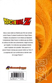 Verso de Dragon Ball Z -15- 3e partie : Le Super Saïyen / Freezer 4
