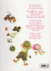 Verso de Ernest & Rebecca -3- Pépé Bestiole
