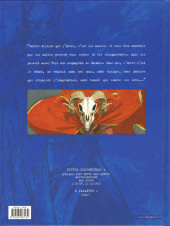 Verso de Blacksad -4- L'Enfer, le silence