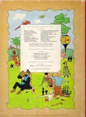Verso de Tintin (Historique) -4B35- Les cigares du pharaon