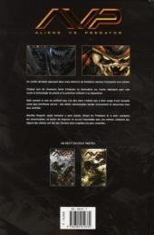 Verso de Aliens vs. Predator (Soleil) -1- Troisième guerre des mondes