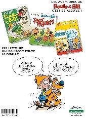 Verso de Boule et Bill -03- (Publicitaires) -23Vert B- 'faut rigoler !