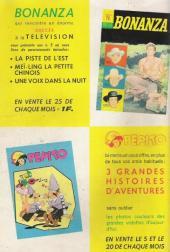 Verso de Bonanza (Vedettes T.V.)  -4- Les fugitifs