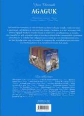 Verso de Les incontournables de la littérature en BD -23- Agaguk