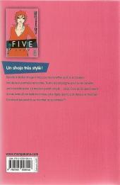 Verso de Five -8- Tome 8