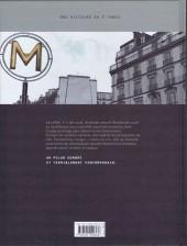 Verso de Metropolitan -2- Cocaïne