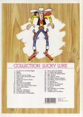 Verso de Lucky Luke -22ES- Les Dalton dans le blizzard