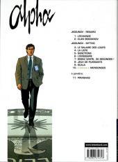 Verso de Alpha (Lombard) -2B2007- Clan bogdanov