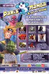 Verso de Marvel Icons (Marvel France - 2005) -64- Une solution pour tout