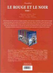 Verso de Les incontournables de la littérature en BD -25- Le Rouge et le Noir - Tome 1