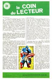 Verso de Capitaine America (Éditions Héritage) -1- Le capitaine se fâche !...