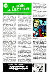 Verso de Capitaine America (Éditions Héritage) -2- Les filets du piégeur