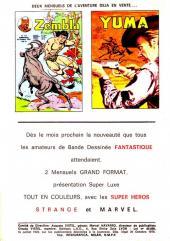 Verso de Blek (Les albums du Grand) -175- Numéro 175