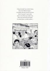 Verso de Les années douces -1- Tome 1