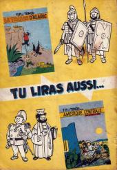 Verso de Tif et Tondu -3'- Oscar et ses mystères