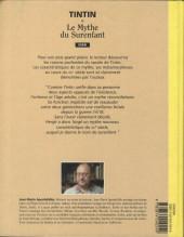 Verso de (AUT) Hergé -91- Tintin et le mythe du surenfant