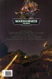 Verso de Warhammer 40,000 (1re série - 2008) -5- À l'épreuve du feu