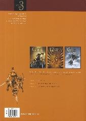 Verso de La geste des Chevaliers Dragons -INT2- La geste des Chevaliers Dragons (T4 à T6)