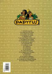 Verso de Papyrus -11b1999- Le pharaon maudit