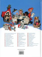 Verso de Spirou et Fantasio -51- Alerte aux Zorkons