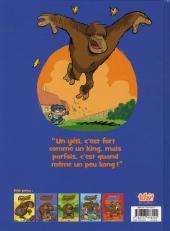 Verso de Mon ami Grompf -6- King Kong Foufou
