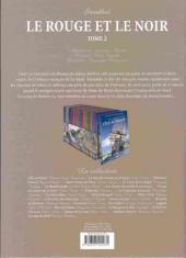 Verso de Les incontournables de la littérature en BD -26- Le Rouge et le Noir - Tome 2