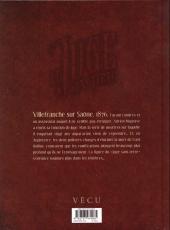 Verso de Le juge sans terre -2- Pages mortelles