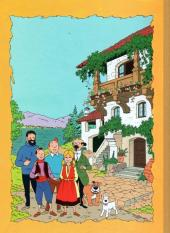 Verso de Tintin - Pastiches, parodies & pirates -PIR- Tintin et le Lac aux requins