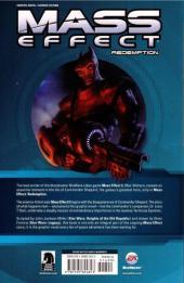 Verso de Mass Effect: Redemption (2010) -INT- Mass Effect Redemption