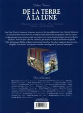 Verso de Les incontournables de la littérature en BD -27- De la Terre à la Lune